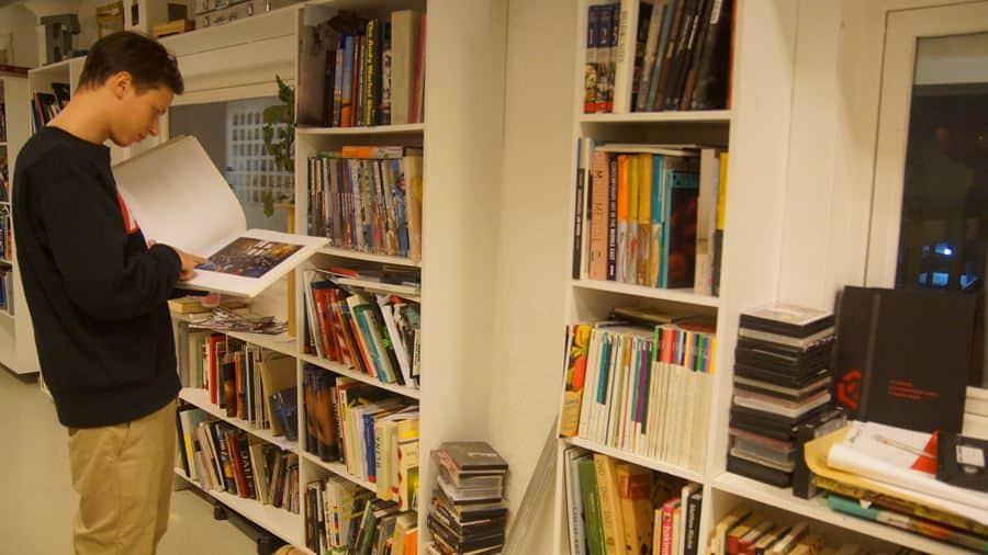 kunst -og kulturbiblotek