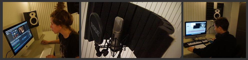 3 Mac rom for lyd og videoredigering